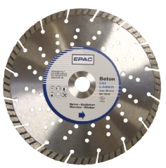 EPAC Diamantskive m/huller, Ø230x22,2 mm